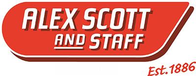 CMYK Alex Scott and Staff_Red Est 1886